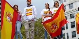 Catalanes y españoles