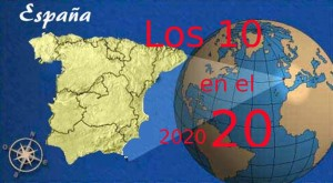 EspañaLos10en20mapamundi